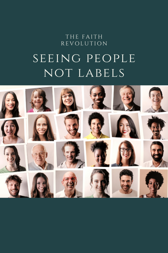 Seeing People - Not Labels
